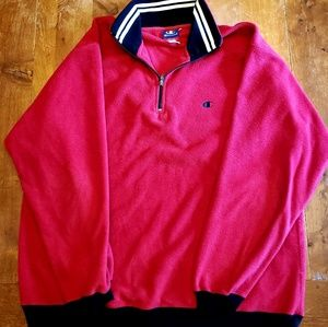 Vintage Champion fleece pullover sweatshirt